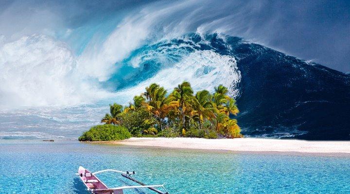 Artikel: Wie die Götter den Bootsbau auf die Fidschi-Inseln brachten – und dann im Zorn die Sintflut (Bilder: PixaBay/gemeinfrei / Montage: Fischinger-Online)