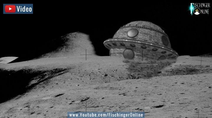 VIDEO: Studie: Gibt es Spuren und Artefakte von außerirdischem Leben auf dem Mond? (Bilder: PixaBay/gemeinfrei / Montage: Fischinger-Online)