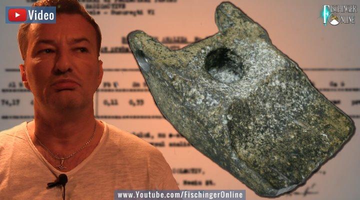 """VIDEO: Das rätselhafte Aluminium-Objekt von Aiud: Eine """"neue Erklärung"""", die nicht stimmen kann! (Bilder: Fischinger-Online)"""