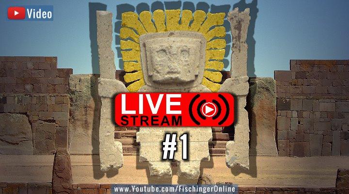 VIDEO: Live-Stream #1 von Grenzwissenschaft und Mystery Files bei Fischinger-Online auf YouTube! (Bilder: Archiv/gemeinfrei / Montage: Fischinger-Online)
