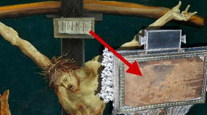 INRI - Die Kreuzinschrift Jesu: Ist die Tafel vom Kreuz Jesus in Rom authentisch? (Bilder: gemeinfrei & Fischinger-Online)
