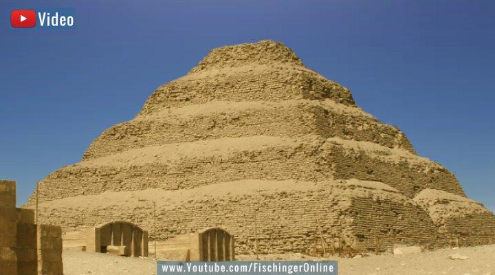 VIDEO: Der Stein, den es nicht geben dürfte: Der unmögliche Monolith von Sakkara (Bild: Fischinger-Online)