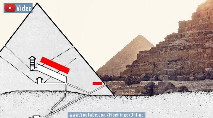 VIDEO: Die neu entdeckten Hohlräume der Cheops-Pyramide: erneut bestätigt! (Bilder: gemeinfrei und Fischinger-Online)