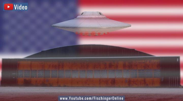 """VIDEO: Fox News-Moderator """"bestätigt"""" UFO-Abstürzte und geheime UFO-Beweise in den USA (Bilder: gemeinfrei / Montage: Fischinger-Online)"""
