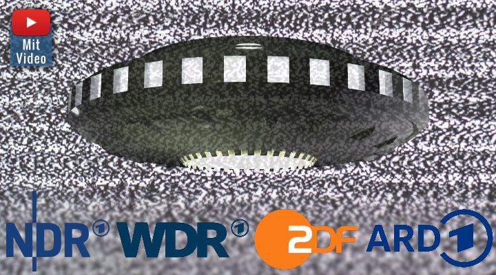 UFOs und UFO-Foschung: Der Paradigmenwechsel des öffentlich-rechtlichen TV (Bilder: WikiCommons & PixaBay/gemeinfrei / Montage: Fischinger-Online)