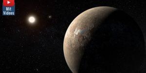 Neues von Proxima Centauri: Weiterer Exoplanet um unseren nächsten Nachbarn entdeckt (Bild: ESO)