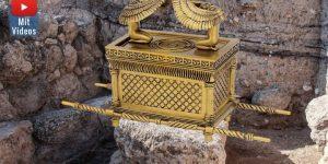 Standort der Bundeslade in Beth-Schemesch gefunden? Stand die Lade auf diesem Stein, wie es die Bibel beschreibt? (Bild: Lederman / Montage: Fischinger-Online)