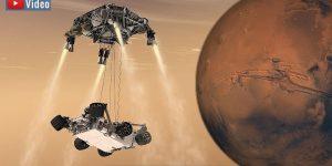 """VIDEO: Die Mission """"Mars 2020"""" der NASA zum Mars: Wird sie den definitiven Beweis für Leben im All bringen? (Bild: NASA)"""