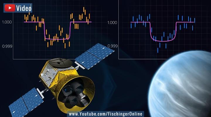 """VIDEO: Exoplanet TOI 700 d, eine Sensation der Astronomie: Wurde hier ein """"Erdzwilling"""" entdeckt? (Bilder: NASA / Montage: Fischinger-Online)"""