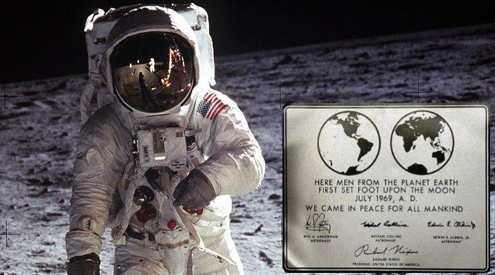 """Eine Mondlandung 2024 würde der NASA 35 Milliarden Dollar extra kosten (Bilder: """"Apollo 11"""" 1969/NASA)"""
