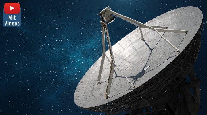 SETI und die Suche nach Außerirdischen: Breakthrough Listen veröffentlicht die größte Menge SETI-Daten in der Geschichte (Bilder: gemeinfrei/Fischinger / Montage: Fischinger-Online)