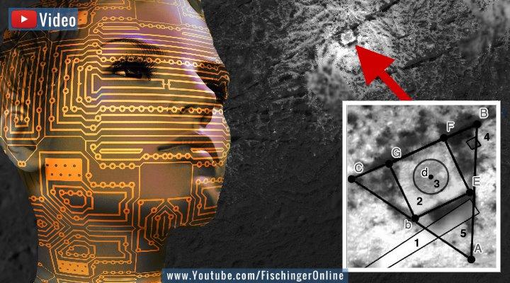 VIDEO: KI entdeckt Alien-Bauten im All, wo angeblich keine sind (Bilder: PixaBay / NASA / G. G. De la Torre / Montage: Fischinger-Online)