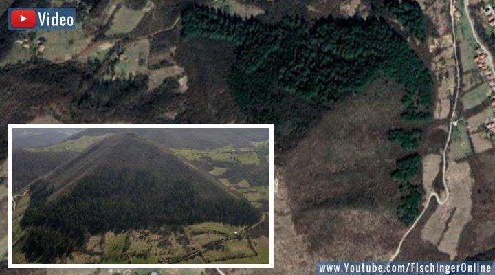 VIDEO: Die Bosnischen Pyramiden und der boomende Tourismus (Bilder: Google Earth / bosnianpyramid.com / Fischinger-Online)