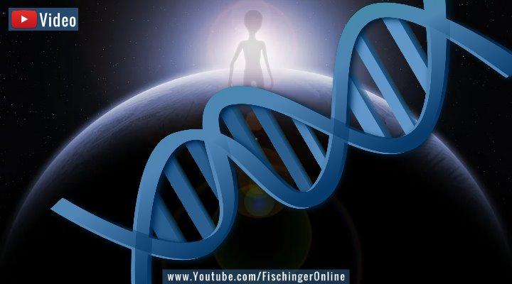 VIDEO: Beweise für Außerirdische in unseren Genen und in unserem Sonnensystem? (Bilder: PixaBay/gemeinfrei/ Montage: Fischinger-Online)