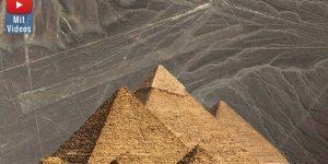 Archäologen gegen die Pseudoarchäologie: Archäologische Mysterien, die in Wahrheit keine sind? (Bilder: Google Earth & Fischinger-Online)