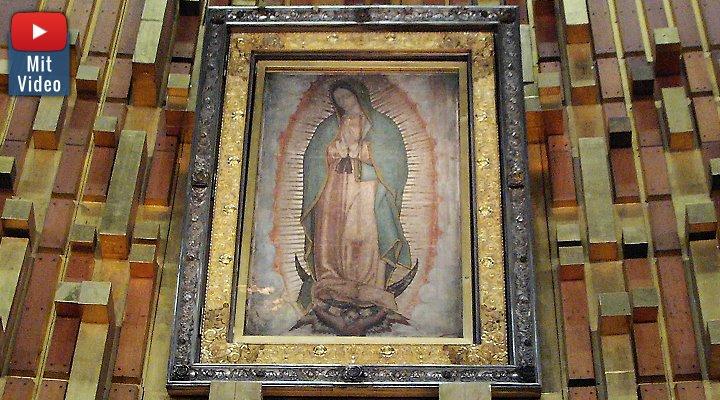 Die Madonna von Guadalupe: Gerüchte und wilde Spekulationen um die Tilma von Guadalupe (Bild: Fischinger-Online)