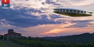 """Im März 1676 kam es am Himmel über der Toskana in Italien zu einer """"UFO-Sichtung"""" (Bilder: PixaBay/gemeinfrei / Montage: Fischinger-Online)"""