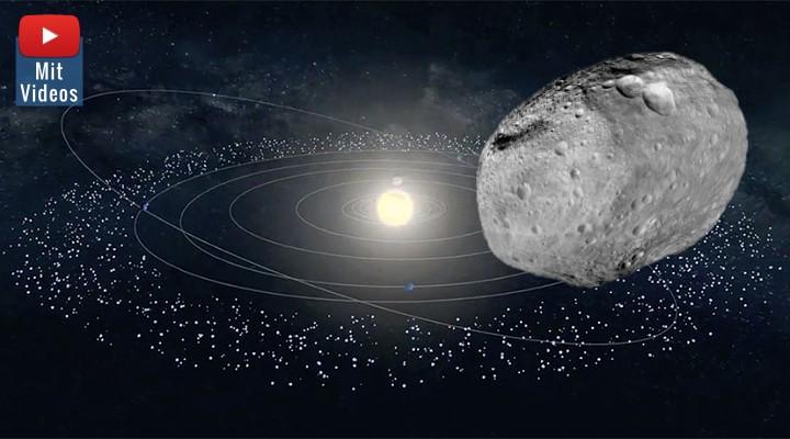 Forscher fanden 139 neue Objekte am Rande des Sonnensystems: Aber noch immer keine Spur von Planet Neun (Bilder: ESA & NASA / Montage: Fischinger-Online)