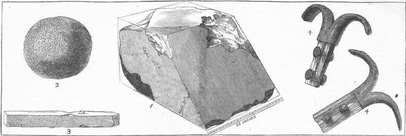 Die 1872 von Waynman Dixon entdeckten Relikte