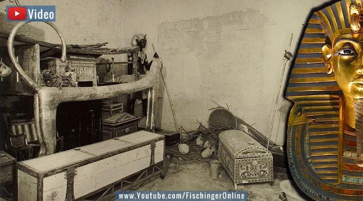 VIDEO: Jetzt also doch eine Sensation? Die Geheimkammern im Grab des Tutanchamun soll es nun doch geben (Bilder: gemeinfrei / Montage: Fischinger-Online)