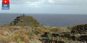 Woher kamen die Ureinwohner der Kanarischen Inseln? (Pyramide auf La Palma / Bild: D. Görlitz/Bild-Archiv abora.eu)