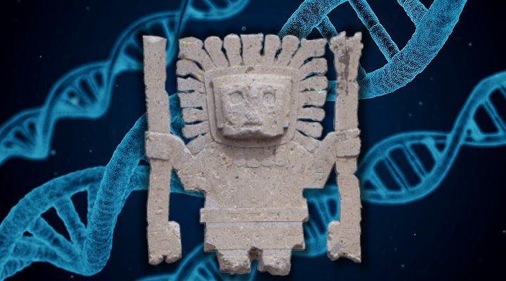 Genetiker auf den Spuren versunkener Anden-Kulturen in Südamerika: Neue DNA-Studie veröffentlicht (Bilder: gemeinfrei / Montage: Fischinger-Online)