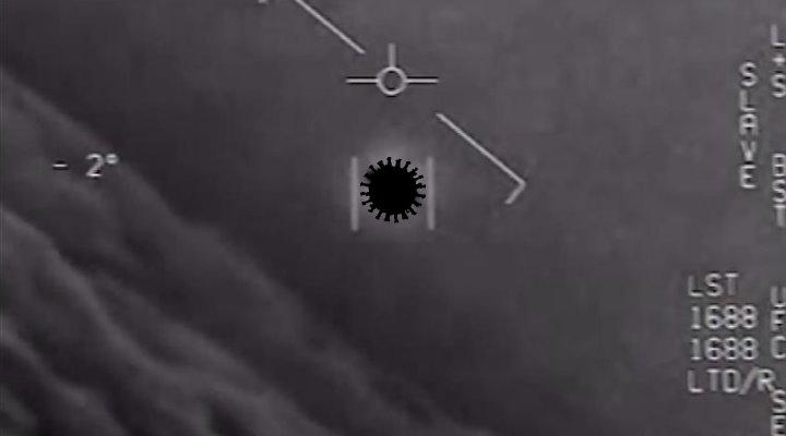 Nach der Freigabe von UFO-Videos der US-Navy durch das Pentagon: Seltsame und falsche Aussagen in den Medien (Bild: US-Navy/gemeinfrei / Bearbeitung: Fischinger-Online)