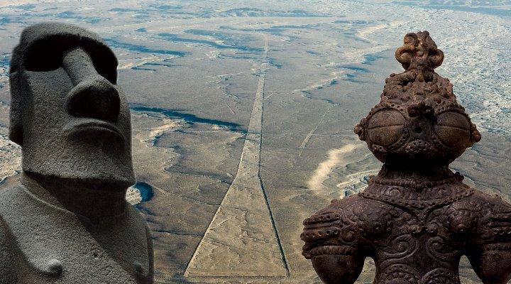 """Prä-Astronautik, Mysterien der Vergangenheit und """"Science-Fiction-Archäologie"""" in den Mainstreammedien: immer nur Feinde? (Bilder: LAF/E. v. Däniken/Archiv / Montage: Fischinger-Online)"""