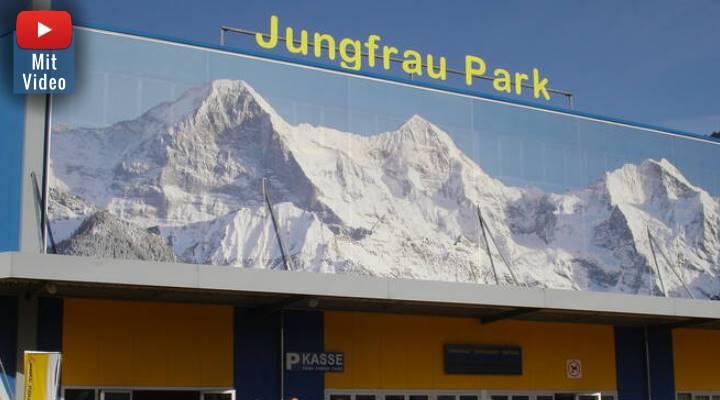 """Der """"Jungfraupark"""" in Interlaken bleibt im Sommer 2020 geschlossen: Alle dortigen Vorträge von Erich von Däniken abgesagt (Bild: jungfraupark.ch)"""