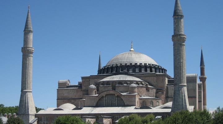 Die Hagia Sophia in Istanbul: Mythen und Legenden um das (einst) christliche Gotteshaus (Bild: Fischinger-Online)