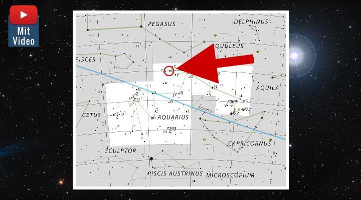 """""""Ein kosmisches Mysterium"""": Astronomen der ESO vermissen plötzlich einen massiven Stern am Himmel (Bilder: ESO / Montage: Fischinger-Online)"""