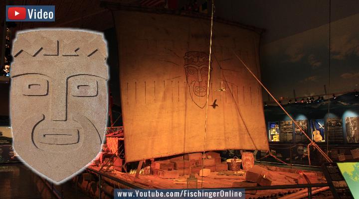 VDIEO: Seefahrt über den Pazifik: Genetiker bestätigen Kon-Tiki und Thor Heyerdahl (Bilder/Montage: Fischinger-Online)