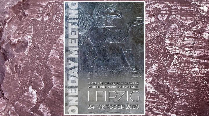 """Astronautengötter-Meeting der """"Forschungsgesellschaft für Archäologie, Astronautik und SETI"""" mit Erich von Däniken 2020 in Leipzig: Programm und Infos (Bilder: A.A.S. / Montage: Fischinger-Online)"""