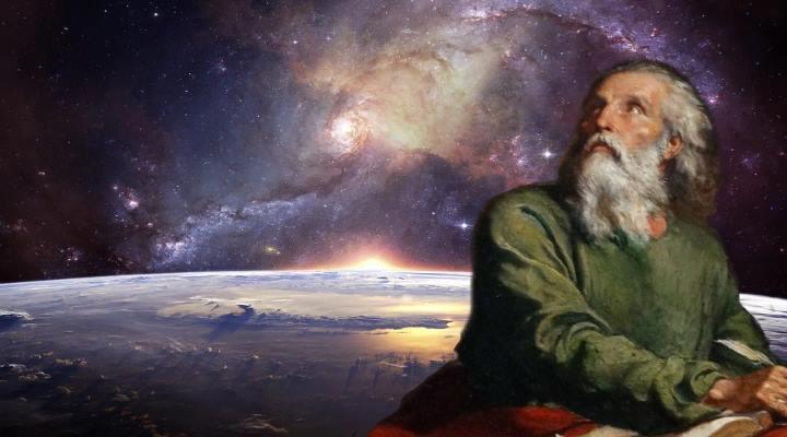 Beschreibt der Prophet Baruch eine Reise in das (luftleere) All - vor Jahrtausenden? (Bilder: gemeinfrei / Montage: Fischinger-Online)