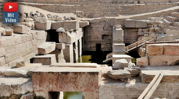 VIDEO: Rätselhafte Höhlen bei Abydos entdeckt! (Bild: Pexels/gemeinfrei / Bearbeitung: Fischinger-Online)