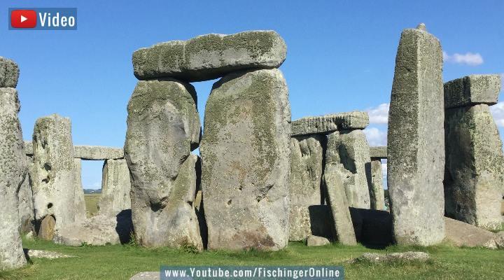 VIDEO: Neues aus der Archäologie der Steinzeit: Forscher lösen (ein) Rätsel von Stonehenge (Bild: PixaBay/gemeinfrei / Bearbeitung: Fischinger-Online)