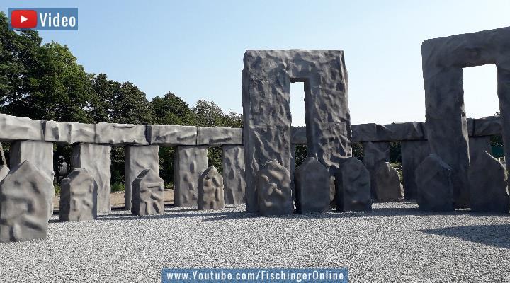 VIDEO: Das Geheimnis von Stonehenge - Ein eins zu eins Nachbau der Megalithanlage in Polen (Bild: Fischinger-Online)