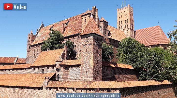 VIDEO: Die Marienburg in Polen: Von Deutschrittern und sagenhaften Phänomenen (Bild: Fischinger-Online)