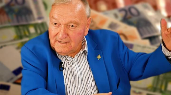 Das Vermögen des Erich von Däniken: 30 Millionen Dollar netto, heißt es! Stimmt das auch? (Bild: Archiv E. v. Däniken & gemeinfrei / Bearbeitung: Fischinger-Online)