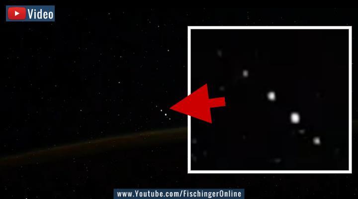VIDEO: ISS-Kosmonaut filmt UFOs über der Erde (Bilder: I. Vagner / Montage: Fischinger-Online)
