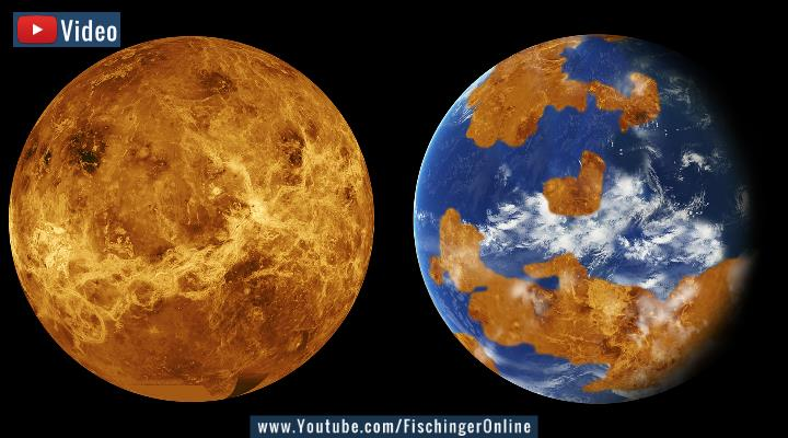 VIDEO: Entdeckung in der Astronomie: Forscher finden deutliche Hinweise auf Leben in den Wolken der Venus (Bilder: NASA)