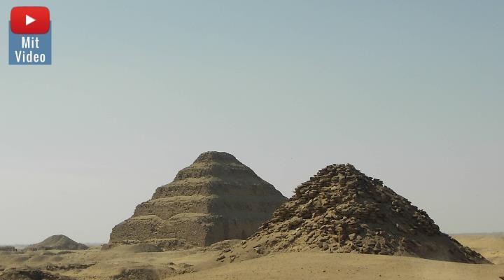 Archäologen fanden in Sakkara dutzende ungeöffnete Sarkophage (Bild: Fischinger-Online)