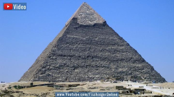 Die Geheimnisse der Chephren Pyramide in Ägypten: Seltsame Sagen, Kammern und Löcher im Fels (Bild: Fischinger-Online)