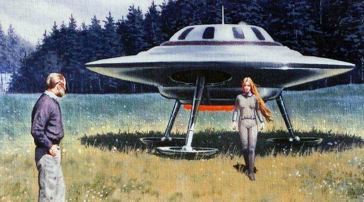 5.000 Dollar Belohnung! UFO-Gruppe um den Guru Billy Meier vermisst Fotos von einer Außerirdischen mit ihrem UFO