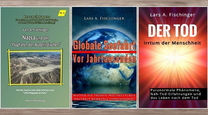 Auf den Spuren der Mystery Files: Drei neue Bücher von Lars A. Fischinger erschienen!
