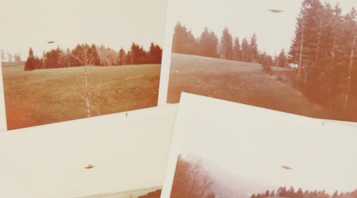 Schweizer UFO-Fotos für über 16.000 Dollar verkauft