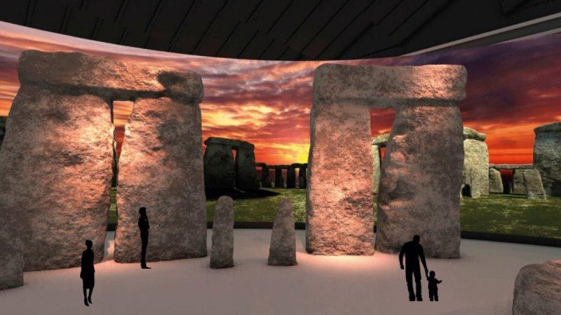 Stonehenge-Ausstellung in Herne ab 2021 (Bild: LWL-Museum für Archäologie Herne)