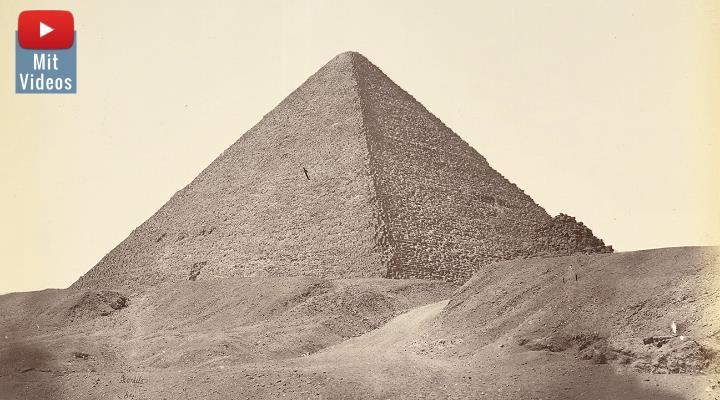 Rätsel um die mutmaßlichen Kammern in der Großen Pyramiden: Neue Daten zur Konstruktion der Cheops-Pyramide sind in Vorbereitung (Bild: gemeinfrei)