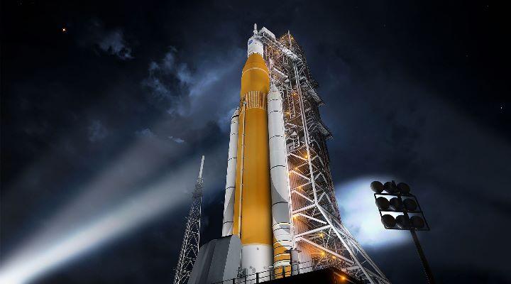 Schwerer Rückschlag für NASA-Pläne einer bemannten Landung auf dem Mond (Bild: NASA/gemeinfrei)