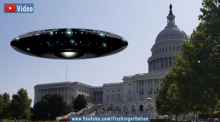 UFO-Enthüllungen 2021? (Bilder: gemeinfrei / Montage: Fischinger-Online)